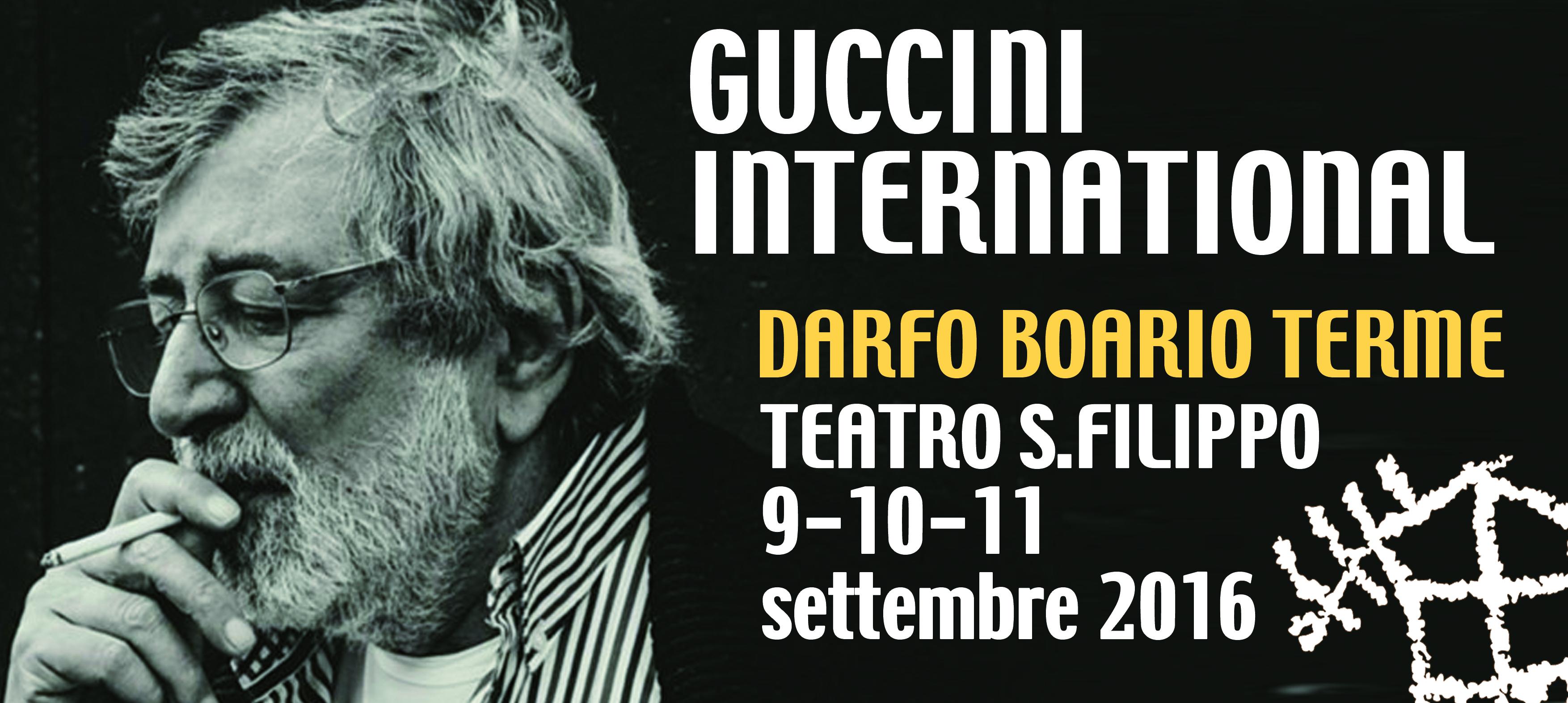 Guccini International  9-10-11 settembre Darfo Boario Terme